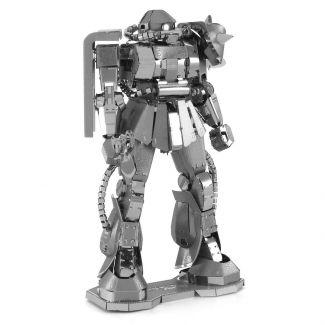 Gundam Zaku II Iconx Premium Series 3D Laser Cut Metal Earth Puzzle by Fascinations