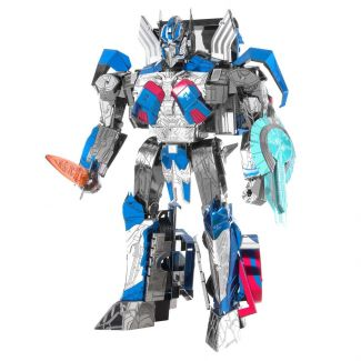 Transformers Optimus Prime Iconx Premium Series 3D Laser Cut Metal Earth Puzzle by Fascinations