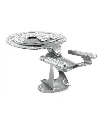 Star Trek USS Enterprise 1701-D 3D Laser Cut Metal Earth Puzzle by Fascinations