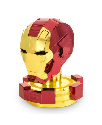 Marvel Avengers Iron Man Helmet 3D Laser Cut Metal Earth Puzzle by Fascinations