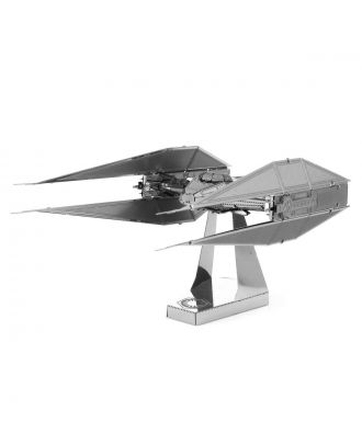 Star Wars Kylo Ren's Tie Silencer 3D Laser Cut Metal Earth Puzzle by Fascinations
