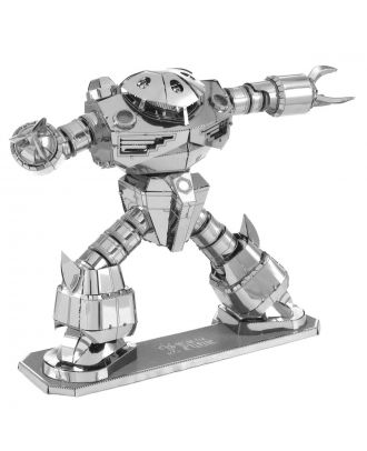 Gundam Z'Gok Iconx Premium Series 3D Laser Cut Metal Earth Puzzle by Fascinations