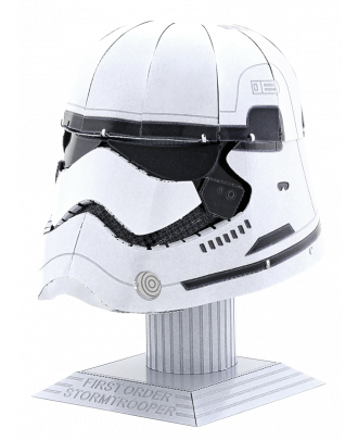 Star Wars Helmet Collection – First Order Stormtrooper Metal Earth 3D Laser Cut Metal Puzzle by Fascinations