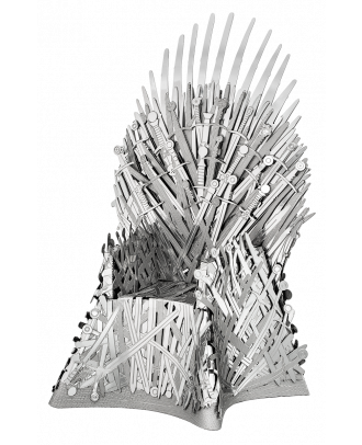 Game Of Thrones - Iron Throne Metal Earth Iconx 3D Laser Cut Metal Puzzle by Fascinations