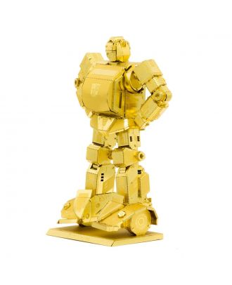 Transformers Gold Bumblebee 3D Laser Cut Metal Earth Puzzle by Fascinations