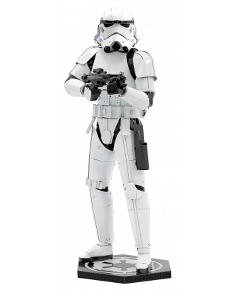 Star Wars Stormtrooper Iconx Premium Series 3D Laser Cut Metal Earth Puzzle by Fascinations