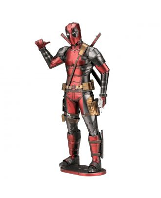 Marvel Deadpool 3D Laser Cut Metal Earth Puzzle by Fascinations