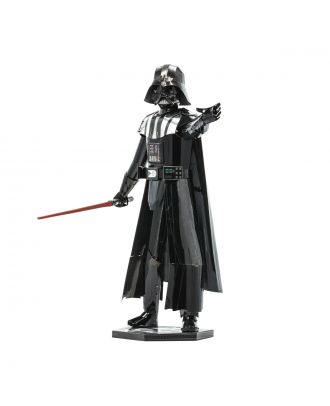 Star Wars Darth Vader Iconx Premium Series 3D Laser Cut Metal Earth Puzzle by Fascinations