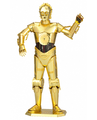 C-3PO Star Wars Iconx Premium Series 3D Laser Cut Metal Earth Puzzle by Fascinations