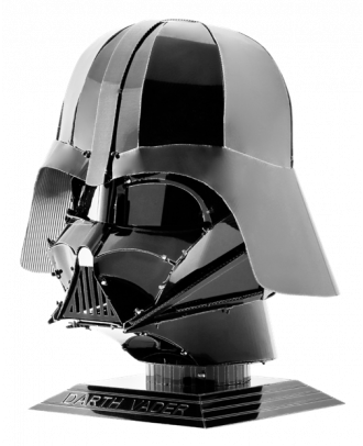 Star Wars Helmet Collection – Darth Vader Metal Earth 3D Laser Cut Metal Puzzle by Fascinations