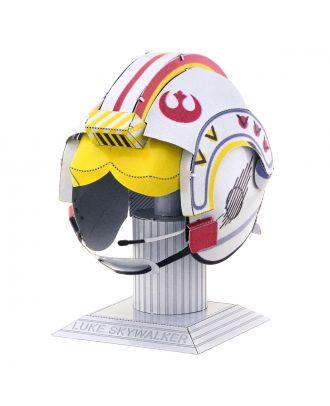 Star Wars Helmet Collection – Luke Skywalker Metal Earth 3D Laser Cut Metal Puzzle by Fascinations