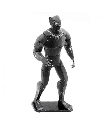 Metal Earth Avengers Black Panther Metal Earth 3D Laser Cut Metal Puzzle by Fascinations