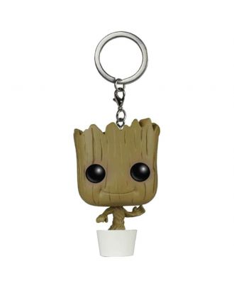 Pocket POP! Keychain: Marvel: Guardians of the Galaxy: Baby Groot Dancing Funko POP!