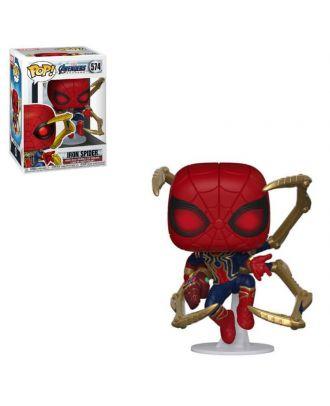 Marvel Avengers : Endgame Iron Spider With Nano Gauntlet Funko POP! Vinyl Figure #574