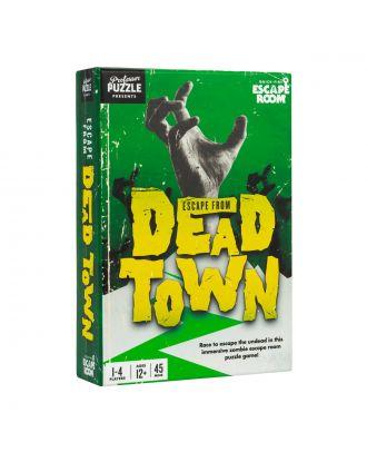 Escape from Dead Town Professor Puzzle Escape Room Game