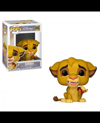 POP Disney: Lion King - Simba Funko POP! Vinyl Figure #496