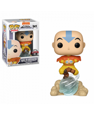 POP Animation: Avatar -  Aang on Air Bubble with 1/6 chance Glow Chase Funko POP! Vinyl Figure #541