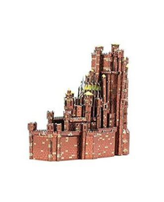 Game Of Thrones - Red Keep Metal Earth Iconx 3D Laser Cut Metal Puzzle by Fascinations
