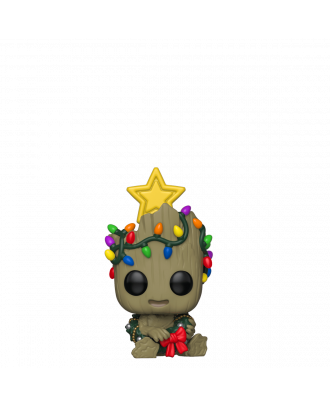Marvel Guardians of the Galaxy 2: Holiday Groot POP! Vinyl Figure #530