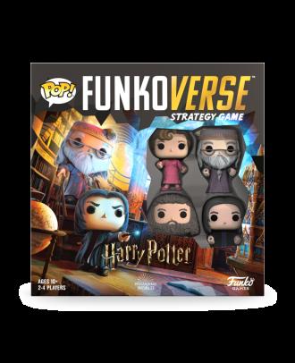 Funkoverse: Harry Potter 102 - 4 Pack Funko POP! Vinyl Figure Game