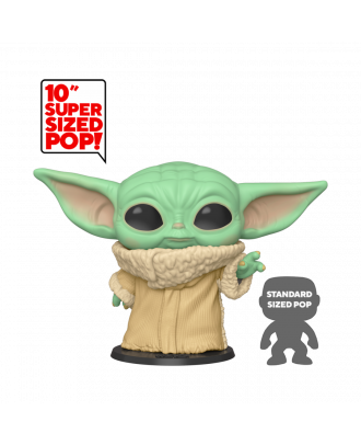 "POP Star Wars: The Mandalorian - 10"" Inch The Child Funko POP! Vinyl Bobble Head Figure #369"