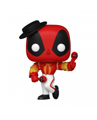 POP Marvel: Deadpool 30th - Flamenco Deadpool Funko POP! Vinyl Bobble Head Collectable Figure #778