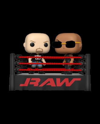 POP Moment: WWE- The Rock vs Stone Cold in Wrestli Funko POP! Vinyl Collectable Figure