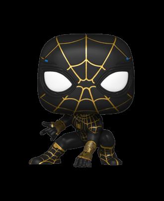 POP Marvel: Spider-Man: No Way Home -Spider-Man (Black & Gold Suit) Funko POP! Vinyl Collectable Figure #911