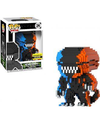 POP! Vinyl: Horror 8-Bit Alien 2-Tone (Orange/Blue) Xenomorph Exclusive Funko POP! Vinyl Figure #24