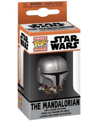 POP Keychain: Mandalorian - Mandalorian Funko POP! Vinyl Collectable Figure