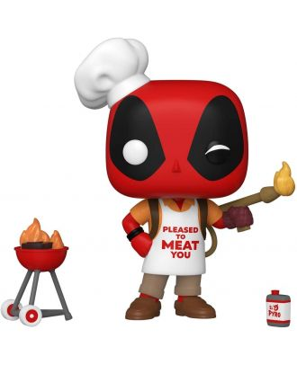 POP Marvel: Deadpool 30th - Backyard Griller Deadpool Funko POP! Vinyl Collectable Bobble Head Figure #774