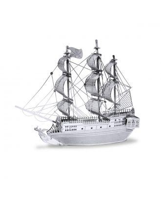 Classics Black Pearl Metal Earth 3D Laser Cut Metal Puzzle by Fascinations