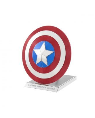 Marvel Avengers Captain America's Shield Metal Earth 3D Laser Cut Metal Puzzle by Fascinations