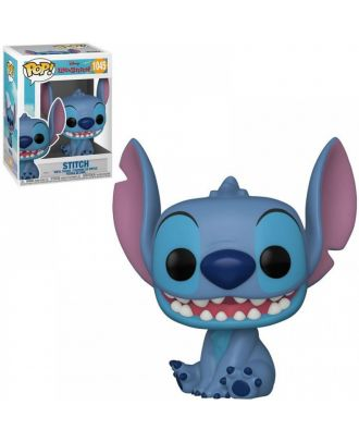 POP Disney: Lilo & Stitch - Smiling Seated Stitch Funko POP! Vinyl Collectable Figure #1045