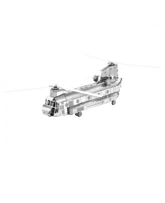 Classics Chinook Helicopter Metal Earth 3D Laser Cut Metal Puzzle by Fascinations