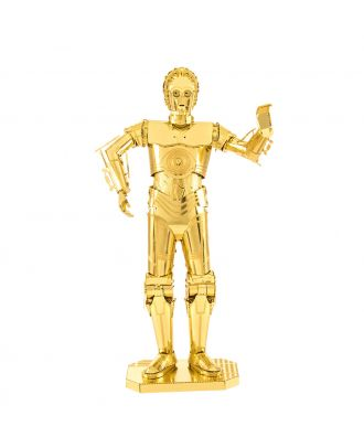 Star Wars Classic – C-3PO Metal Earth 3D Laser Cut Metal Puzzle by Fascinations