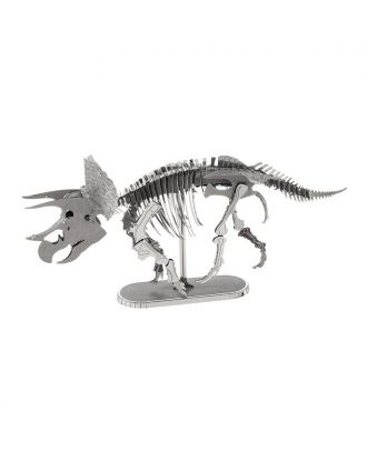 Dinosaurs Triceratops Metal Earth 3D Laser Cut Metal Puzzle by Fascinations