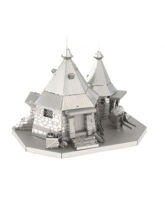 Harry Potter Hagrid's Hut Metal Earth 3D Laser Cut Metal Puzzle by Fascinations