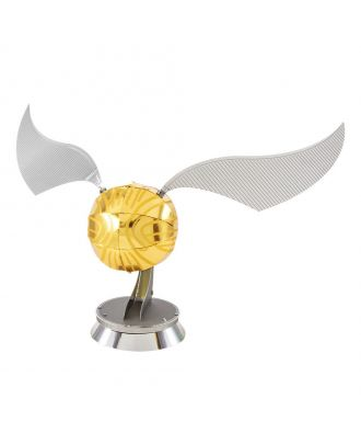 Harry Potter The Golden Snitch Metal Earth 3D Laser Cut Metal Puzzle by Fascinations