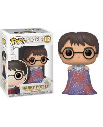 POP HP: Harry Potter - Harry w/Invisibility Cloak Funko POP! Vinyl Collectable Figure #112