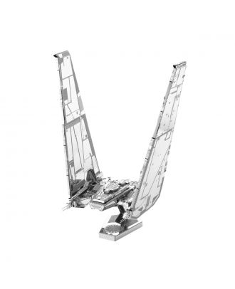 Star Wars New Trilogy – Kylo Ren's Command Shuttle Metal Earth 3D Laser Cut Metal Puzzle by Fascinations