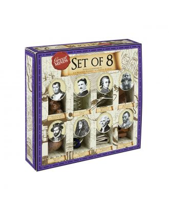 Great Minds Set of 8 Puzzles by Professor Puzzle