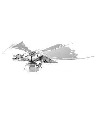 Harry Potter Gringott's Dragon Metal Earth 3D Laser Cut Metal Puzzle by Fascinations
