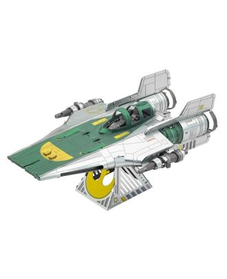 Star Wars Resistance A-Wing Fighter Metal Earth 3D Laser Cut Metal Puzzle by Fascinations