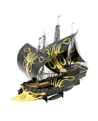 Game Of Thrones - Greyjoy Ship Silence Metal Earth Iconx 3D Laser Cut Metal Puzzle by Fascinations