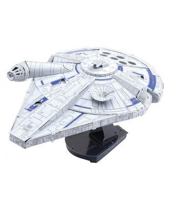 Star Wars Solo – Lando Calrissian's Millennium Falcon Metal Earth 3D Laser Cut Metal Puzzle by Fascinations