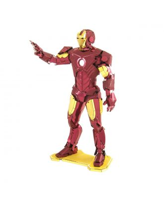 Marvel Avengers Iron Man Metal Earth 3D Laser Cut Metal Puzzle by Fascinations