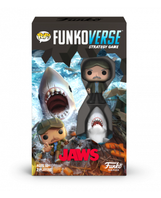 Funkoverse: Jaws - 100 Expandalone 2 Pack Funko POP! Vinyl Figure Strategy Game