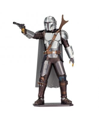 Star Wars The Mandalorian Iconx Premium Series 3D Laser Cut Metal Earth Puzzle by Fascinations
