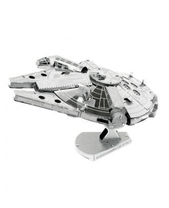 Star Wars Classic – Millennium Falcon Metal Earth 3D Laser Cut Metal Puzzle by Fascinations